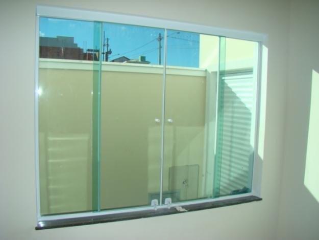 Esquadrias de alumínio para vidro temperado